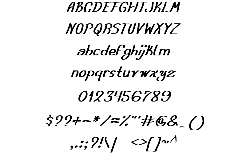 Austera Simple Tfb Font Sample