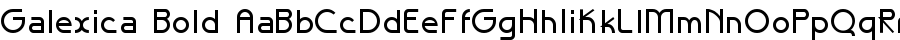 Galexica Bold font